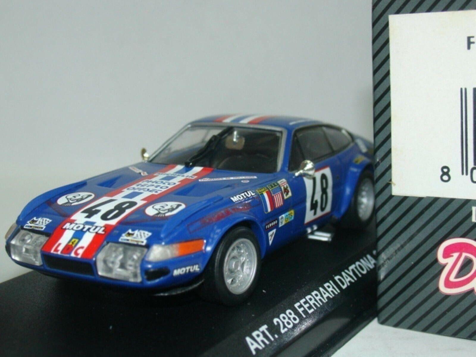 Wow extrêmement rare FERRARI 365 GTB 4 Daytona  48 Le Mans 1975 1 43 détail-Spark