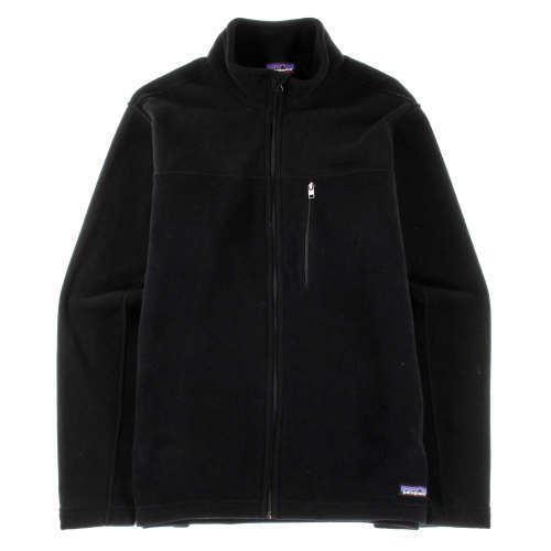 Patagonia Men/'s Simple Synchilla Fleece Laced Black Jacket Various Sizes MSR $99