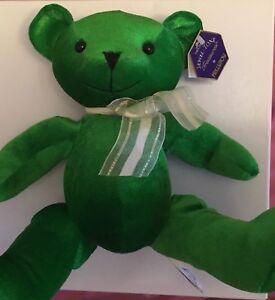 Image Is Loading Kellytoy Jewel Tone Green Stuffed Toy Bear
