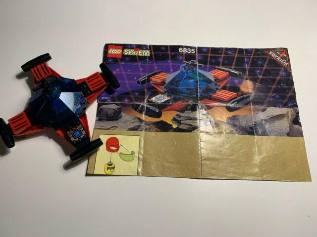 Vintage LEGO Classic Space Spyrius Set 6835 Saucer Scout 100% COMPLETE Astronaut