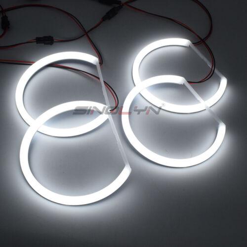 SMD LED Angel Eye Halo Rings Lamp For BMW E46//E39//E38//E36 Headlight Retrofit DIY
