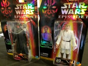 Star Wars Celebration 2019 Exclusivité Hasbro Black Series Darth Maul et Obi-wan