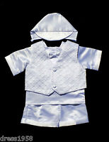 Boys Infant Toddler Christening Baptism Outfit,sz:x-small To 4t