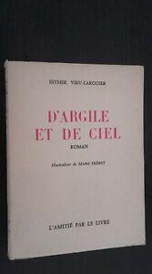 Argilla E Di Celeste Esther Vieu-Larguier 1958 Lettura Limite Spilla Illustre Be