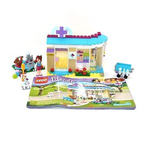 Lego Friends Vet Clinic Set 41085 Complete With Instructions No Box