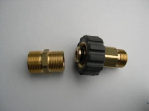 M21 für Wap Alto C CS SC DX Hochdruckreiniger Schlauchverbinder 2tlg Schlauch