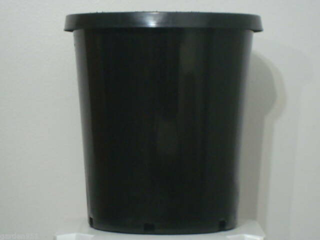 15 Gallon Hd Plastic Nursery Pots Quany 10