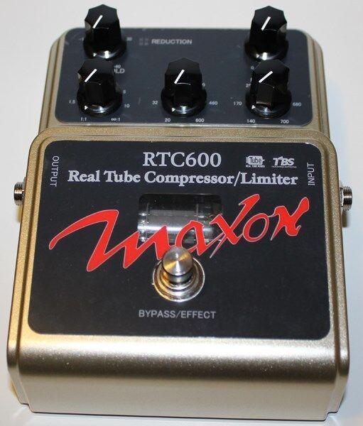 MAXON RTC600 REAL TUBE COMPRESSOR PEDAL, NEW   Maxon Authorized Dealer