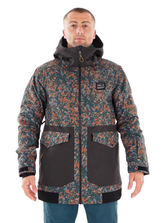 O'Neill Skijacke Funktionsjacke Winterjacke grün Thinsulate™ wärmend