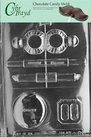 Cybrtrayd K071 Makeup Kit Chocolate Candy Mold With Exclusive Cybrtrayd Copyrigh