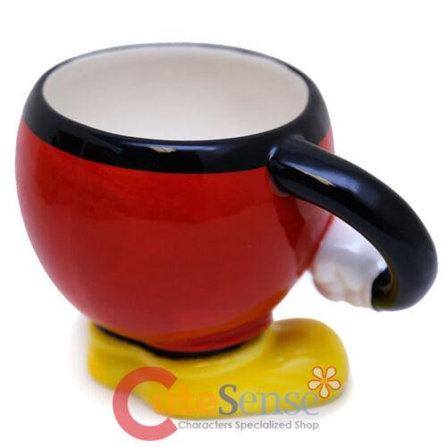 Disney Mickey Mouse Ceramics Mug with Arm Sculpture Cup