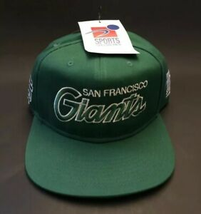 low priced 775d1 3c176 Image is loading San-Francisco-Giants-Nike-Snapback-St-Patrick-s-