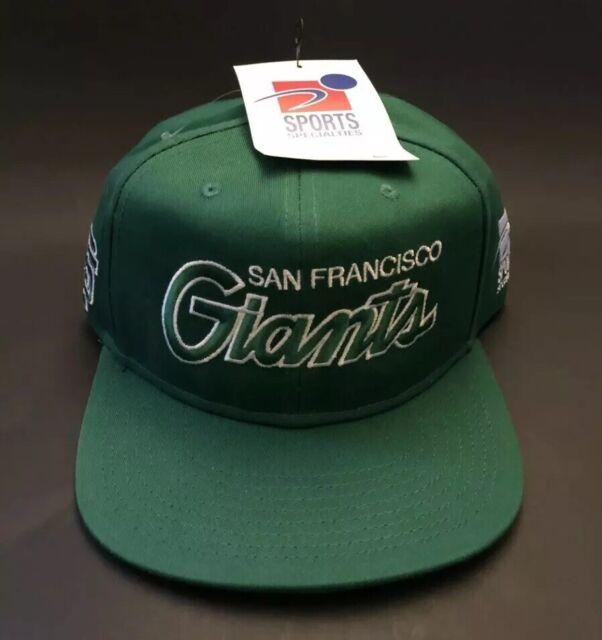the best attitude c4120 955b2 San Francisco Giants Nike Snapback St Patrick s Day Green Script Vintage Hat  NWT