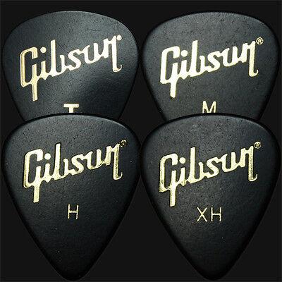 12 x Gibson Standard Guitar Picks Plectrums - 3 Of Each Size