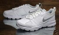 Nike T-Lite XI White Silver 616696-101 NEW Women's Shoes Size 8