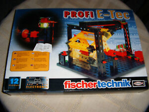 Fischertechnik Kit Profi E-tec, Ovp avec description,