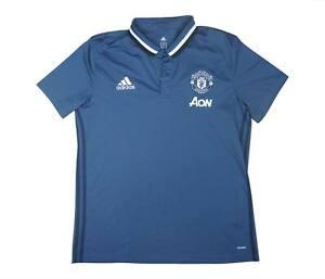 Manchester United 2016-17 ORIGINALE POLO (eccellente) XL soccer jersey