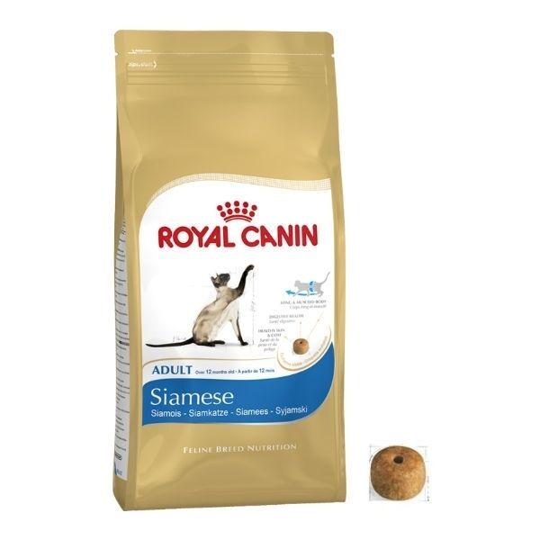 Royal Canin Siamés Gato Adulto Seco Alimento equilibrado Y COMPLETO 10kg