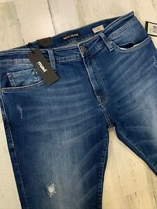 NWT-Mavi-Jake-Slim-Leg-Jeans-38x34-Men-039-s-Stretch-MSRP-98
