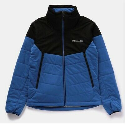 Columbia sports PM3791 Crest to Creek Jacket 437 Azul L ...