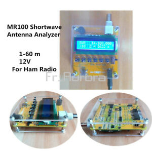 MR100-Shortwave-Antenna-Analyzer-Meter-Tester-1-60M-For-Ham-Radio-Q9-Head-12V