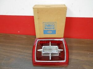 1966 FORD GALAXIE XL 500 LTD TAIL LIGHT BACK UP LAMP LENS NOS FORD  518