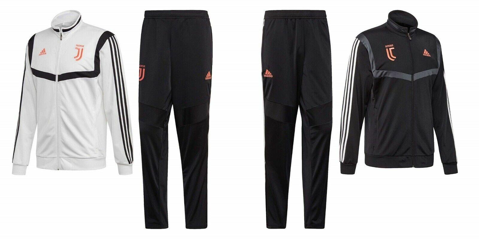 B138 Adidas Juventus FC Training Tracksuit Pes Suit Sr Officieel