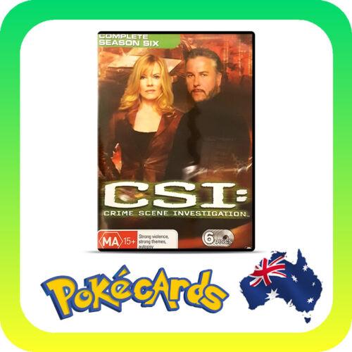 1 of 1 - CSI: Crime Scene Investigation : Series 6 (DVD, 2007, 6-Disc Set)