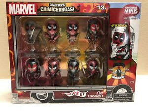 2015-Marvel-DEADPOOL-039-S-CHIMICHANGAS-Original-Minis-Series-1-set-of-8-NEW