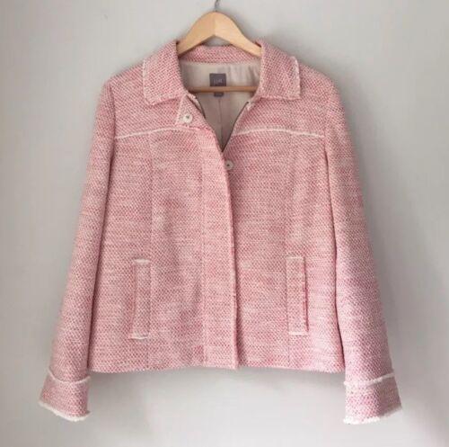 Blend Cream Medium Jill Skjult Jacket Front Størrelse Cotton Nwot Zip J Tweed Red 8EqA4d8wP