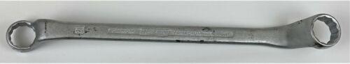 HAZET Doppel Ringschlüssel gekröpft 21//22mm Industriewerkzeug 630 used