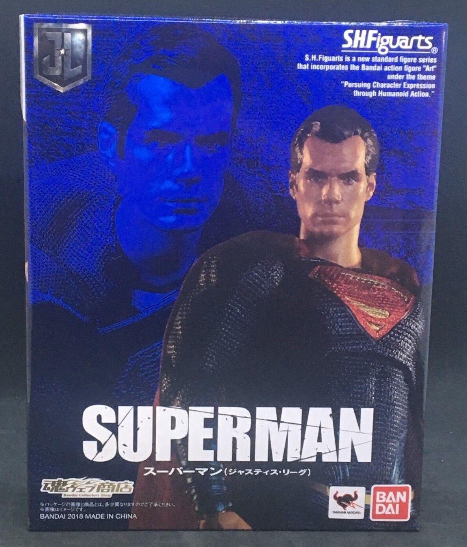 SH Figuarts Justice League Superman - Bandai Action FIGURE