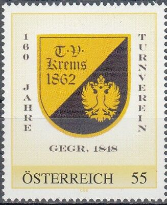 Personalisierte Marke 8019622 Turnverein Krems Good Reputation Over The World Briefmarken