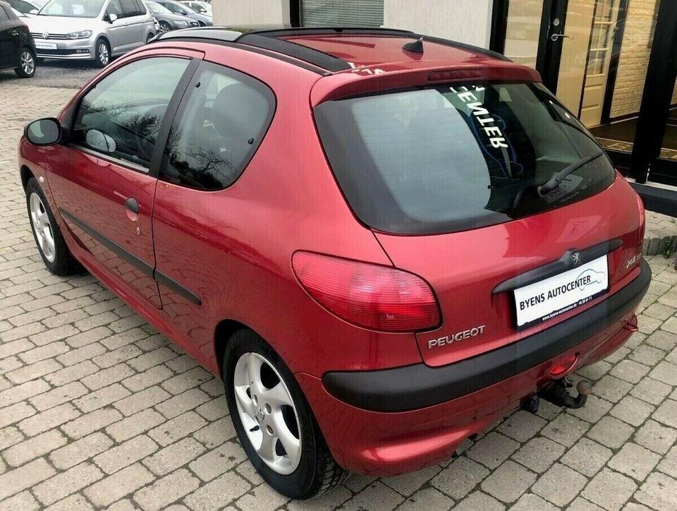 Peugeot 206 1,4 HDi XR Diesel modelår 2002 km 241000