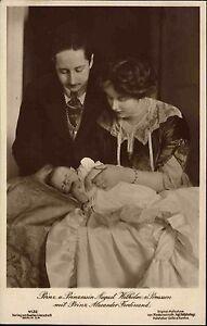 Adel-Monarchie-1910-Prinzessin-Prinz-August-Wilhelm-Preussen-Alexander-Ferdinand