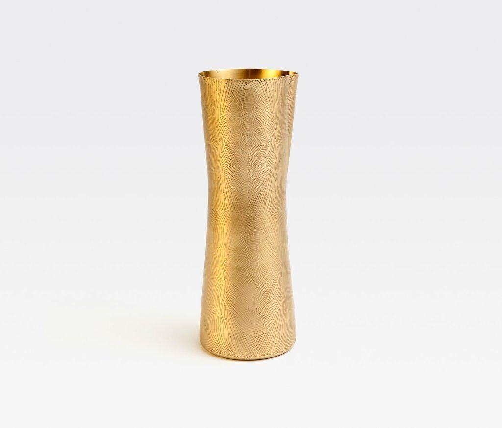 EXKLUSIV DESIGN Karaffe   Pitcher - Messing matt matt matt mit Holzmuster - Krug Gold 0efc75