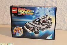 LEGO® IDEAS 21103 DeLorean Zeitmaschine - NEU & OVP -