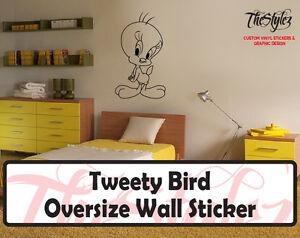 Looney Tunes Tweety Bird Custom Vinyl Sticker