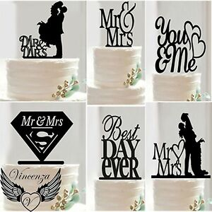 Acrylic-Wedding-EngagementAnniversary-Occasion-Party-Cake-Topper-Pick-Decoration