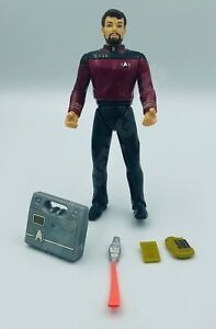 Star Trek Generations Lieutenant Commander William Riker Action Figure