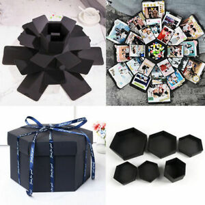 Details About Surprise Explosion Box Creative Birthday Gifts Photo Album Memory Scrapbook Diy