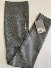 item 5 NWT Gymshark Ombre Seamless Leggings Black Light Grey Size Large  -NWT Gymshark Ombre Seamless Leggings Black Light Grey Size Large d94fbc699b4