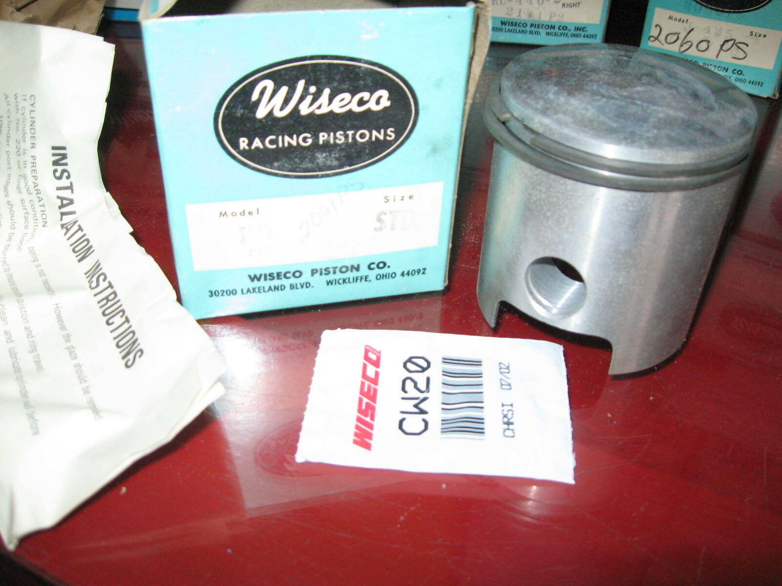 1967  1968 1969 JLO L292 Wiseco Piston Kit_2mm os_Arctic Cat_Fox Trac_Ski-Daddler  online
