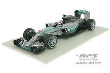 Mercedes F1 W06 Hybrid - Hamilton - Formel 1 Weltmeister 2015  - 1:18 Minichamps