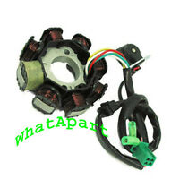 Gy6 8-coil 50cc - 150cc Stator Ac Current(3-pin Small Plug,, 2 Loose Wire)