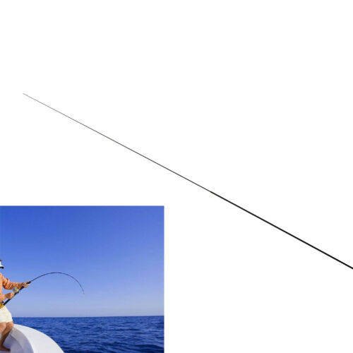 56Cm 2 Intervals Fishing Rod Tips Solid And Hollow Carbon Long Rod Accessori OX