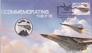 2011 Commemorating the F-111 Souvenir Cover - Commemorative Medallion 8501/10000