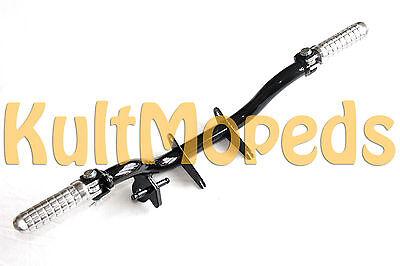 Fußraste pas. für Simson S51 S50 S53 S60 S70 Fußrastenträger Tuning klappbar Alu