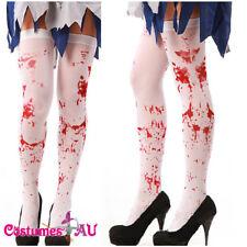 """White Blood Splattered 22.6/"""" Lanyard ID Holder-Bloody Lanyard-Brand New!"""