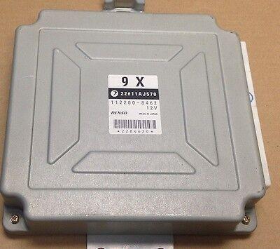 2005 SUBARU FORESTER XT OEM ECU ENGINE COMPUTER MODULE ECM MT 2.5L TURBO